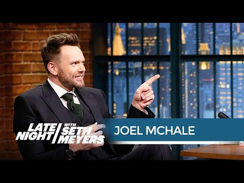 Joel McHale Is Glad Donald Trump Wasn't at His White House Correspondents' Dinner