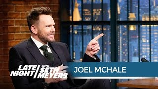 Joel McHale Is Glad Donald Trump Wasn