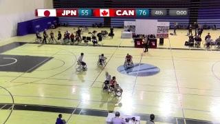 CANADA vs JAPAN - Senior Men's International Wheelchair Basketball - January 24, 2019