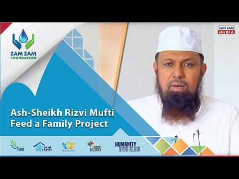 Ash-sheikh Rizvi Mufti - Feed A Family Project video