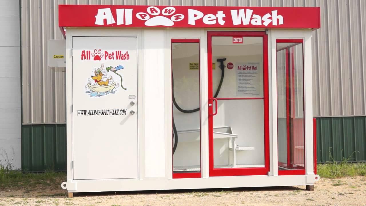 Self Service Dog Washer