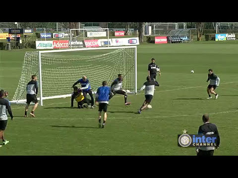 ALLENAMENTO INTER REAL AUDIO 10 04 13