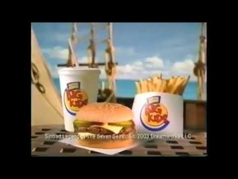 Sinbad: Legend Of The Seven Seas Burger King (2003) Commercial
