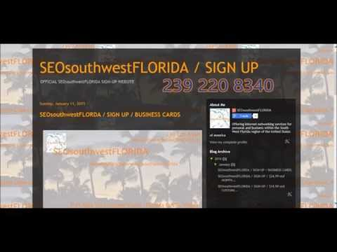 SEOsouthwestFLORIDA / SIGN-UP 239 220 8340 / $24.99usd month SEO Service