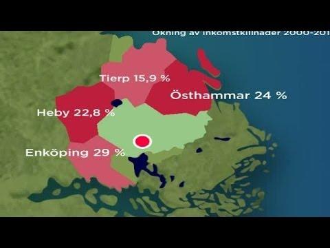 Därför är löneskillnaderna mellan män och kvinnor så stora - Nyheterna Uppsala (TV4)