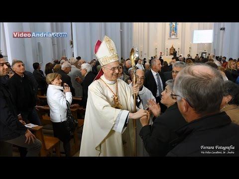 Andria: Benedizione del Cardinale Tarcisio Bertone nella Chiesa Beata Vergine Immacolata