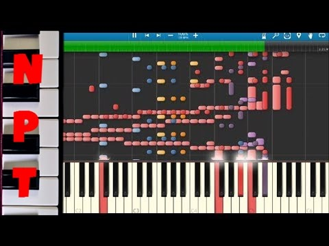 IMPOSSIBLE REMIX - Watch Me (Whip & Nae Nae) - Silento - Instrumental Cover - Synthesia Piano