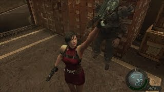 Moldy Gameplay: Resident Evil 4 HD: Seperate Ways RE2 Ada Complete Playthrough [Mod]