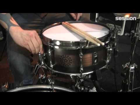 Mapex Black Panther Nomad Snare - Sirocco Burst - 13 X 6 Zoll video