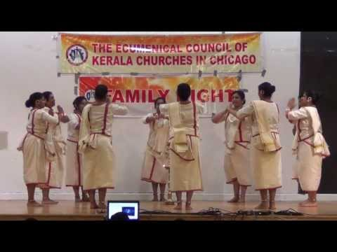 Margam Kali (മാർഗം കളി) - Ecumenical Family Night 2013-06-01 video