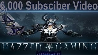Hazzed Gaming 6,000th Subsciber Video - New Intro Revealing - Future Plans