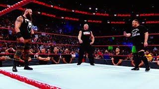 Brock Lesnar, Roman Reigns, Samoa Joe and Braun Strowman collide tonight at SummerSlam