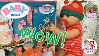 Baby Born Doll Videos| Opening Baby Born Advent Calendar 7th Surprise With Elly🎄So Warm🎁🧣
