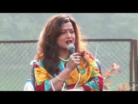 Definition of Hero ( Richa Sharma and Rekha Thapa ) @ Nepal Literature festival 2016
