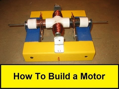 How to build a motor youtube for How does a simple electric motor work