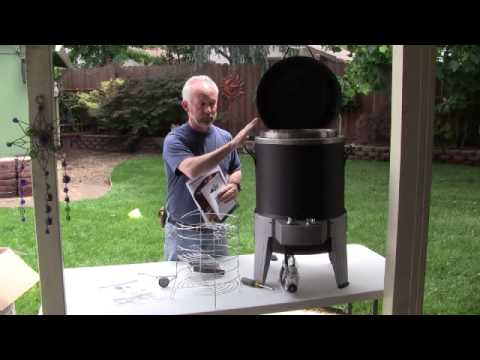 Char-Broil Big Easy SRG Review - Part 1.avi