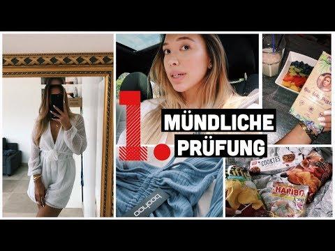 "1. Prüfung, ""GESUNDE Ernährung"" & Mini Fashion Haul"