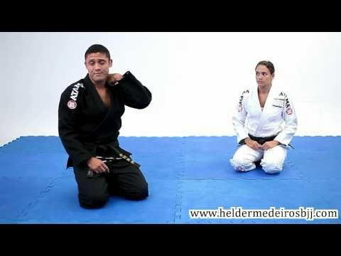 Video Aula Arm Lock Guarda Aberta (Open Guard) - Hélder Medeiros - Jiu-Jitsu