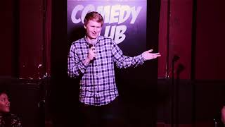 Robert Morgan at Greenwich Village Comedy Club Contest