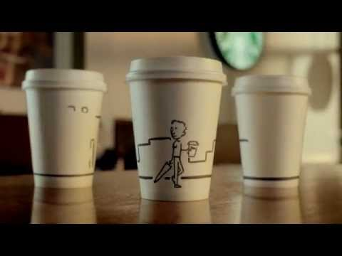 Starbucks new TV advert, UK. #1