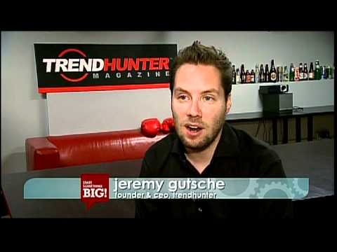 Start Something Big - Trend Hunter s History, Profile and Founder s Story