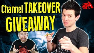 D&D GIVEAWAY AND CHANNEL TAKEOVER!