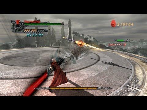 DMC4 Dante BOSS RUSH