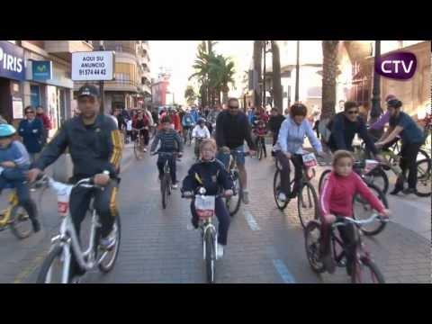 600 PERSONES PARTICIPEN EN LA VOLTA POPULAR EN BICI A CULLERA