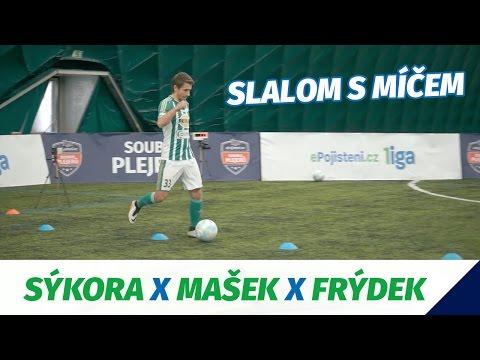 Souboj plejerů 2017 - Slalom s míčem