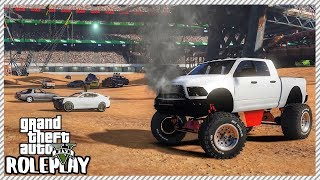 GTA 5 Roleplay - Epic Car Demolition Derby Event | RedlineRP #236
