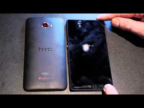 Sony Xperia Z vs HTC Droid DNA