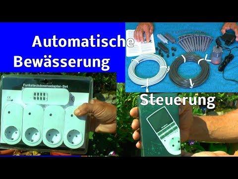 Automatische Bewässerung von Gardena einfach steuern wie geht das? Hier im Film gezeigt