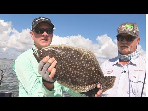 FOX Sports Outdoors SOUTHWEST #19 - 2015 Port Mansfield Texas Flounder Fishing