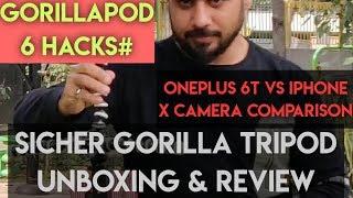 GORILLAPOD 6Hacks, ONEPLUS 6T VS IPHONE X CAMERA COMPARISON, #31