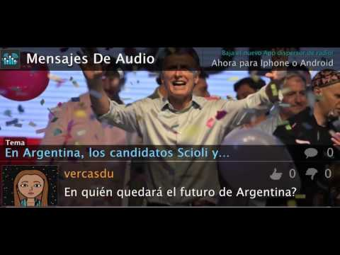 En Argentina, se van a 2da ronda