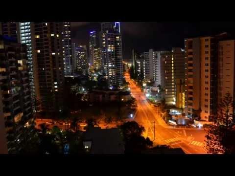 Gold Coast / Surfers Paradise : 1080p HD Timelapse
