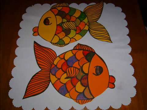 Art Craft Activity Susan Sparkles Makes 3d Fish Youtube