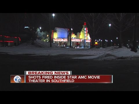 Shot fired inside Southfield Star Theater