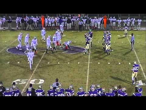 Hiram High School vs. New manchester 11-8-13