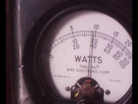 Grandliv 144 MHz RF Amplifier standart test.wmv