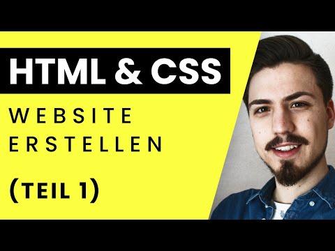 HTML 5 | CSS Tutorial  2018 - Grundkurs Teil 1: Einstieg (Deutsch)