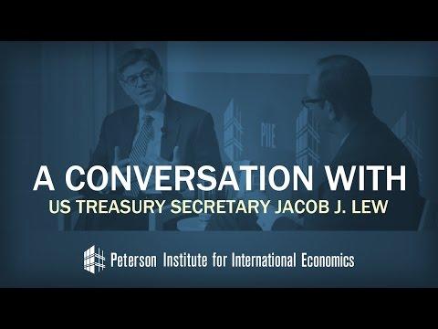 A Conversation with US Treasury Secretary Jacob J. Lew