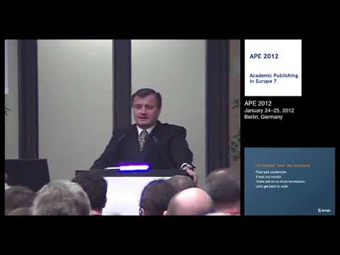 Keynotes:The Past, the Present and the Future of STM Publishing