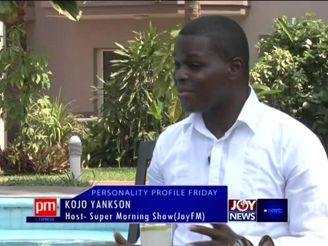 Kojo Yankson - Personality Profile Friday on Joy News (24-10-14)