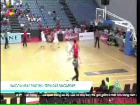 20160201 VTV9 NEWS Saigon Heat defeated by Singapore Slingers