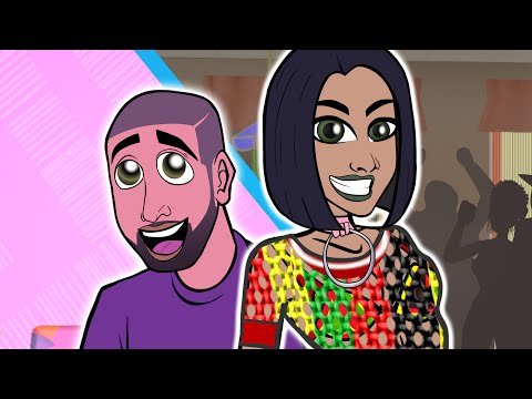 Rihanna - Work ft. Drake (CARTOON PARODY)