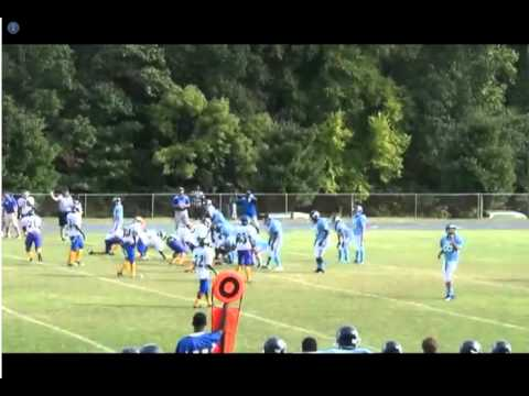 Bryant Young - West Rowan Middle School QB 2012