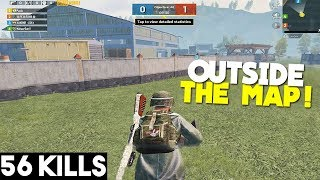 I AM OUTSIDE THE MAP! BEST GLITCH IN TDM! | PUBG Mobile 🐼