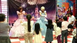 SHOW DE CENICIENTA Y SOFIA - KID CITY SHOWS INFANTILES