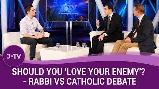 Video: Should I love the Enemy? - Joseph Dweck vs Peter Tyler